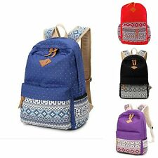 Women bags Backpack School Girl Canvas Bag Satchel Shoulder Rucksack Travel bags