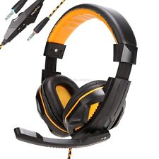 Hot   Surround Stereo Gaming Headset Headband Headphone with Mic for PC MDWK