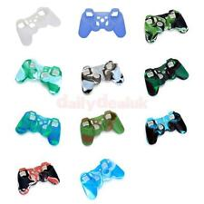 Soft Silicone Protective Skin Case Cover for PS2 PS3 Controller Various Color
