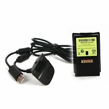 New Ni MH 4800mAH Rechargeable battery pack For XBOX 360 & chargeable cable