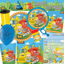 Bob the Builder Party Supplies Tableware - FREE DELIVERY