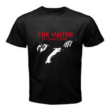 THE SMITHS The Queen Is Dead 80's Rock Music Men's Black T-Shirt
