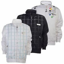 Lotto Kid's Jacket Denzel Axel White/Black/Blue Running Jogging Football Active