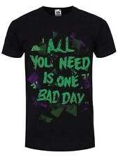 All You Need Is One Bad Day Men's Black T-shirt