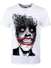 DC Comics Joker Bats Men's White T-Shirt - NEW & OFFICIAL