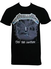 Metallica Ride The Lightning Mens Black T-Shirt - NEW & OFFICIAL