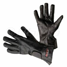 Leather Summer Motorcycle Gloves Perforated - Freeflow XS-3XL