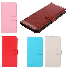 Flip PU Leather Hard Wallet Case Cover Stand Folded Magnetic Clip for iPhone  ZH