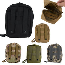 Airsoft Molle Tactical Bag Military First Aid Nylon Sling Pouch Bag Case