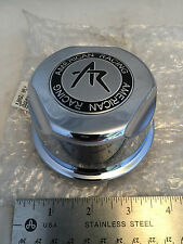NEW American Racing Wheel Center Hub Cap Chrome F-050 1307100S Snap In