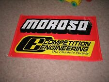 MOROSO RACE BANNER NHRA,NASCAR STREET OUTLAWS, GAS MONKEY GARAGE