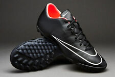 NIKE MERCURIAL VICTORY V TF INDOOR SOCCER TURF FUTSAL CR7 SHOES Black/Hyper Punc