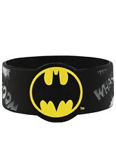 DC Comics Batman Kaaboom! Black Rubber Wristband