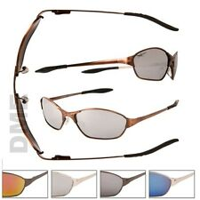 XSPORTZ Mens Sport Metal Frame 100% UV400 Spring Temple Hinge Sunglasses