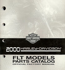 2000 HARLEY-DAVIDSON FLT TOURING MODELS PARTS CATALOG MANUAL -FLTR-FLHR-FLHTCUI
