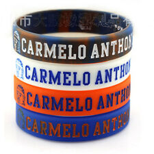 4pcs CARMELO ANTHONY 7 Silicone Wristband Rubber Bracelet Basketball Sport
