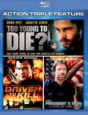 Action Triple Feature:Too Young To Die (Blu-ray Disc, 2013)