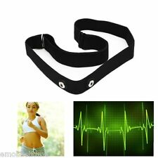 Chest Belt Strap Heart Rate Monitor  Band for Garmin Wahoo Polar Wireless Sports