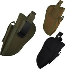 Airsoft Tactical Pistol Hand Gun Holster Leg Magazine Holder Waist Right & Left