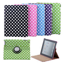 360° Rotating Magnetic PU Leather Case Smart Cover Stand For Apple iPad 2/3/4