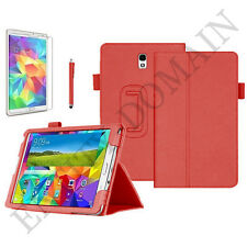 """Leather Smart Flip Stand Case For Samsung Galaxy Tab A 9.7"""" inch SM-T550- P550"""