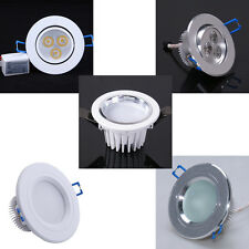 3W 3x1W LED Recessed Ceiling Light Spotlight Downlight Bulb Lamp Fixture +Driver