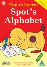 FUN TO LEARN SPOT'S ALPHABET YOUNG CHILDREN'S EDUCATIONAL DVD NEW & SEALED