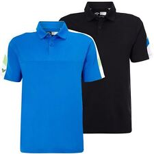 Callaway 2016 Embossed Chest Colour Blocked Stretch Mens Vent Golf Polo Shirt