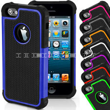 Phone Case Cover Pouch Defender Hard Silicone Shock Proof For Apple iPhone 4 4s
