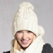 Knitted Hats Winter Hat Scarf for Women In Winter New Fashion Hat & Scarf Sent