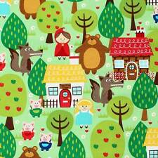 Into The Forest Michael Miller 100% Cotton Fabric CX5764 FQ 1/2 Half Full Metre