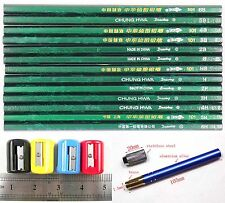 ChuangHua Sketch Drawing Pencil 6H 5H 4H 3H B 4B 5B 6B Sharpener Extender Set