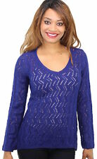 Style&Co NWT V-Neck Long Sleeve Pullover Loose Knit Sweater Top