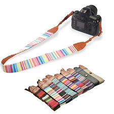 Universal Camera Shoulder Neck Belt Strap For SLR DSLR Digital Canon Sony TS