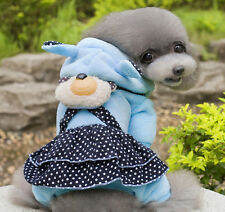Dog Cat Coat Jacket Pet Supplies Clothes Winter Clothing Puppy Sweater skirt