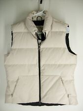 Eddie Bauer White - Ivory Goose Down Puffer Vest Mens M - Medium