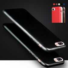 Hot Luxury Ultra-thin Soft Leather Back Skin Case Cover For  iPhone 6/6s/7/7Plus
