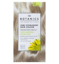 BOOTS BOTANICS / PERFECT COLOUR SEMI OR PERMANENT HAIR COLOUR RED BROWN BLONDE