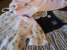 VINTAGE CLOTHING - GIRLS - PETER RABBIT - POOH - KIP & Co -SIZE 00 - 7 CLEARANCE