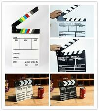 HOLLYWOOD CLAPBOARD CLAPPER CLAP BOARD MOVIE SIGN DIRECTOR'S PROP CHALKBOARD