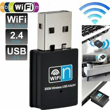 150/300Mbps Mini USB WiFi Wireless Adapter Dongle Network LAN Card 802.11n/g/b