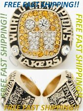 Shaquille O'Neal 2001 Los Angeles Lakers Basketball NBA Championship Ring  - NEW