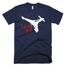 Rutan Model 61 Long-EZ Custom Airplane T-Shirt - Personalized with Your N#