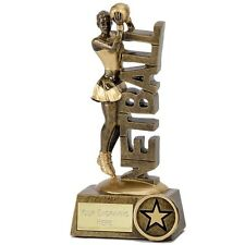 "NETBALL Player Trophy FREE ENGRAVING 2 Sizes 5""or 6"" Personalised Award"