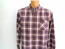 Timberland Long Sleeve Navy Multi Check Earthkeepers   Shirt  Slim fit