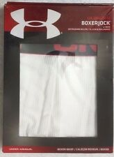 "Under Armour Original  6"" Boxerjock  White   (5544)"