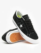 Converse Cons One Star Skate Black Skateboard Shoes New in Box 9.5, 11.5, or 12