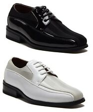 New Little Boys B-99207 Patent Leather Pin Striped Formal Dress Oxfords Shoes