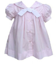 Girls Petit Ami Sailor Dress Pastel Pink Girls Nautical Sailor Toddler NWT