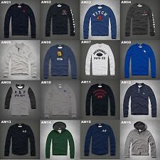 NWT ABERCROMBIE & FITCH MENS GRAPHIC TEE & HOODIE TEE LONG SLEEVE SIZE S-XXL A&F